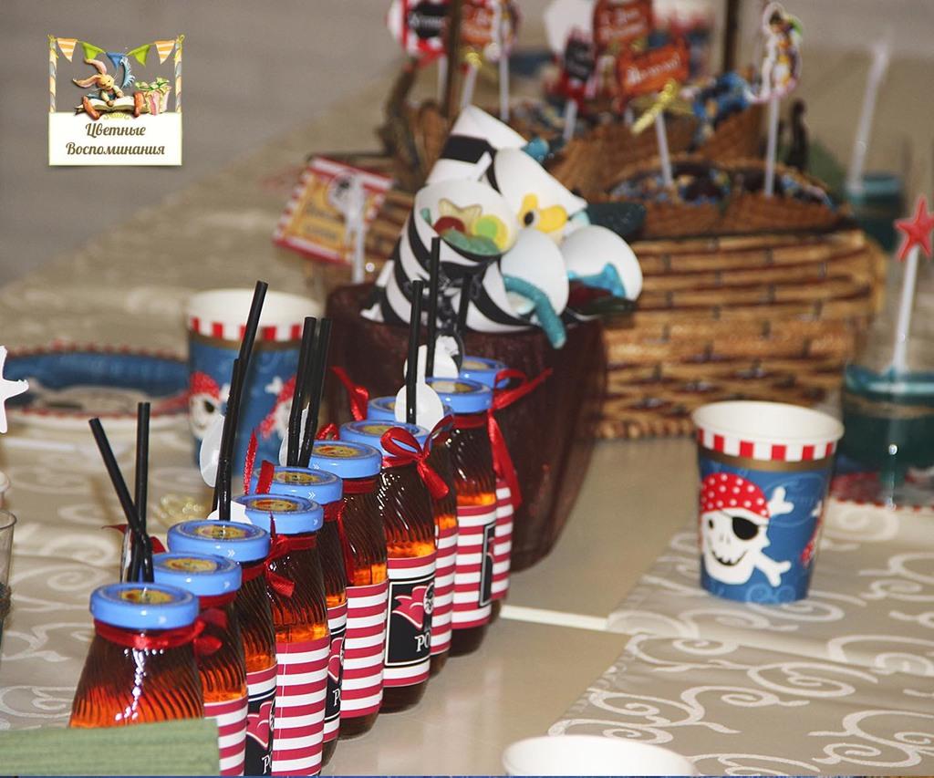 Пиратская вечеринка для детей 10