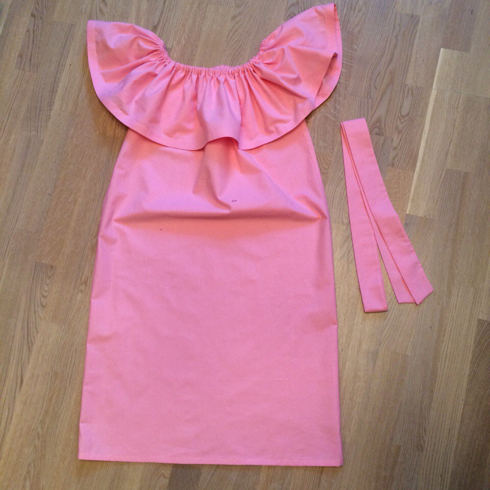 Детское платье с воланами как сшить 33