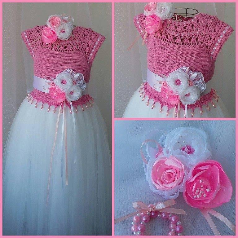Платье для принцессы своими руками связать
