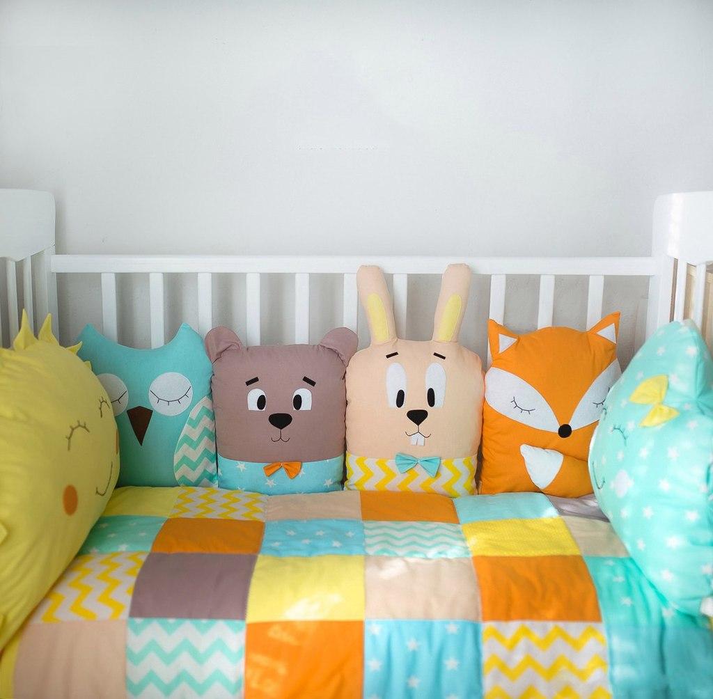 Как сшить наборы в детскую кроватку своими руками