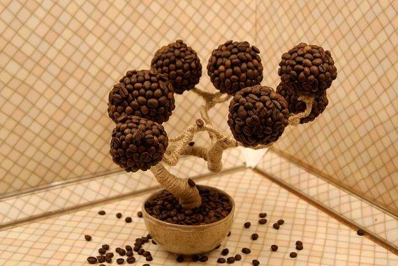 Поделки из зерен кофе своими руками пошаговый