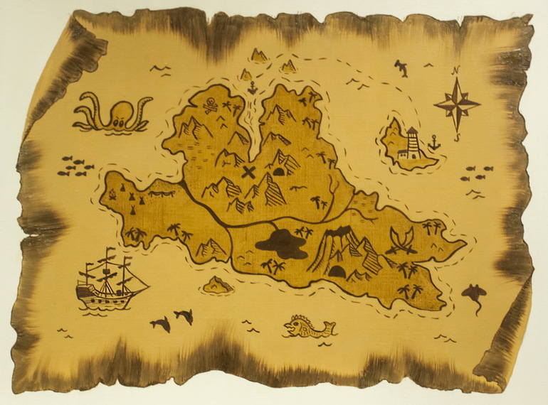 Пиратская карта
