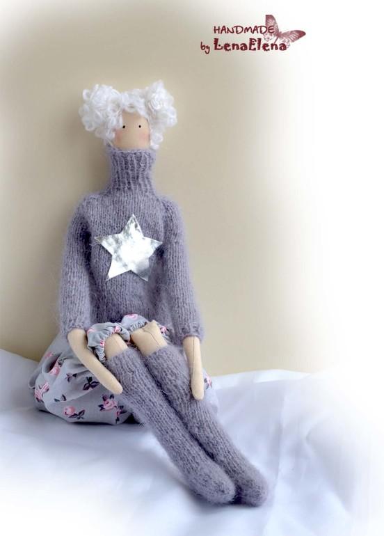 Зимняя девочка из новой книги Тони Финагер