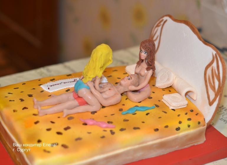 Тортик для любимца женщин.