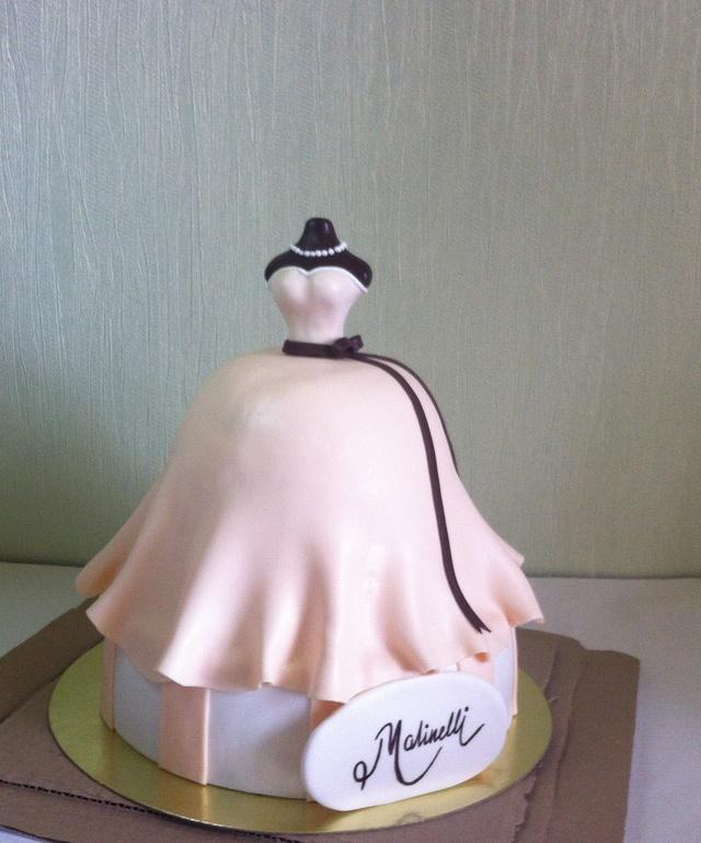Торт для свадебного салона