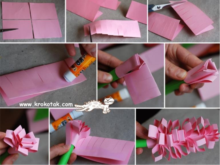 Как сделать из бумаги подарки на день рождения