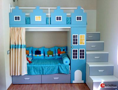 Уникальная детская мебель от дизайн студии interiomax - запи.
