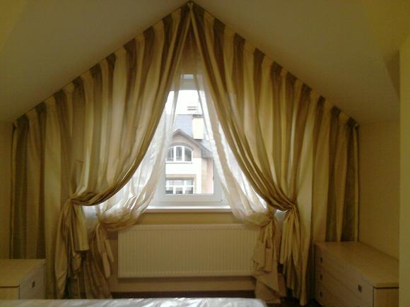 Декор для мансардного окна