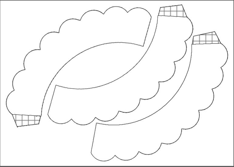 юбочки для капкейков шаблоны скачать бесплатно - фото 3