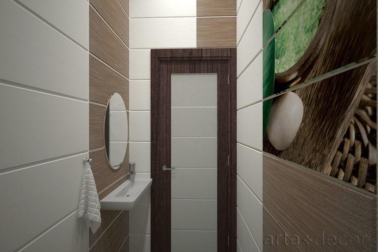 Инсталляция в ванной дизайн 4