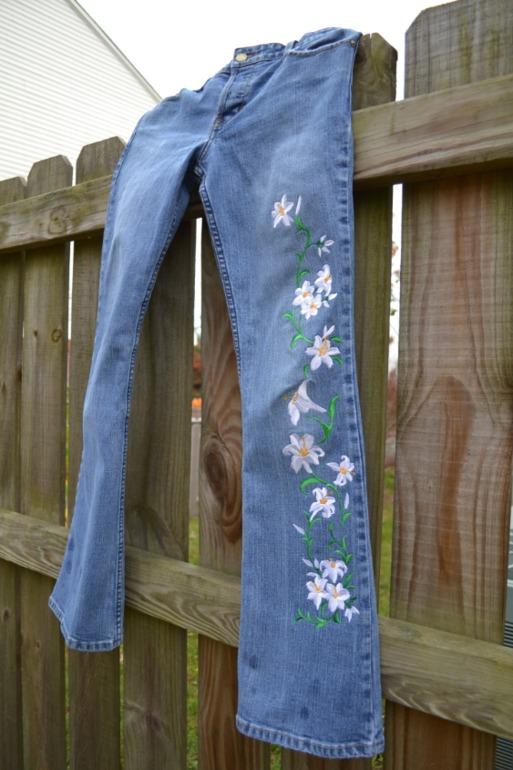 похолодало.  нужны  новые  джинсы!