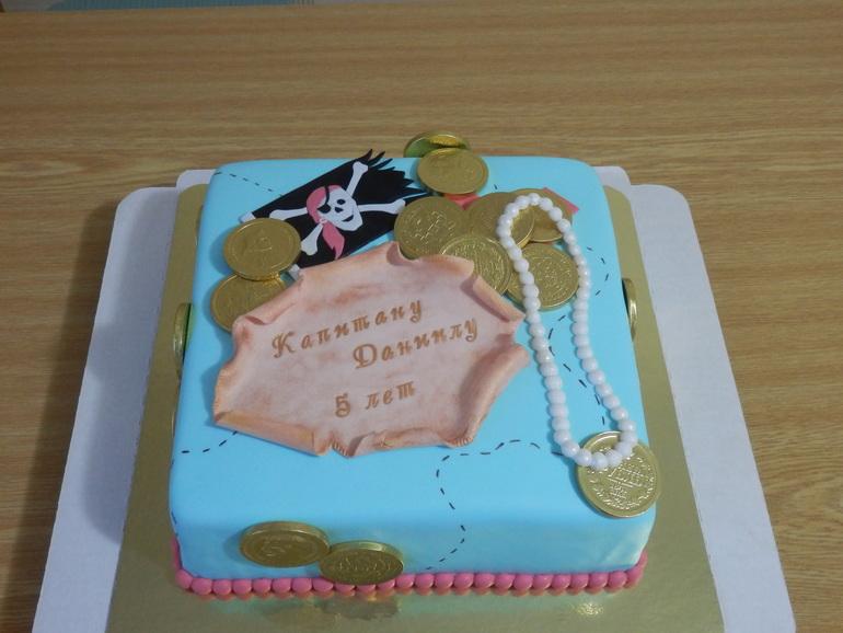 Пиратский  тортик