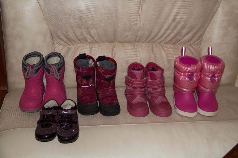 Обувь для девочки Crocs, Viking, kuoma, totto