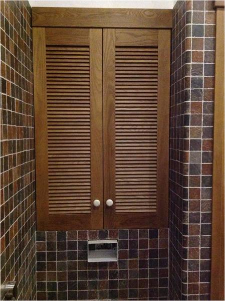 Как сделать жалюзийную дверь