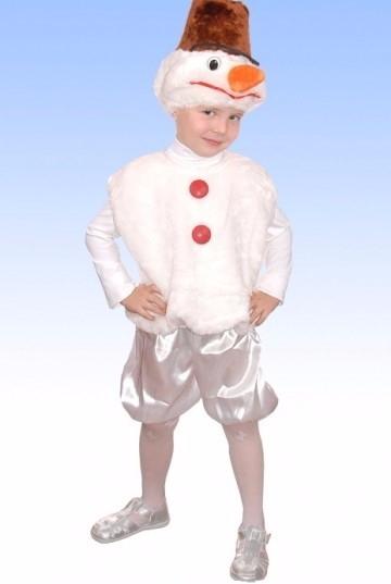 Карнавальные костюмы снеговик своими руками