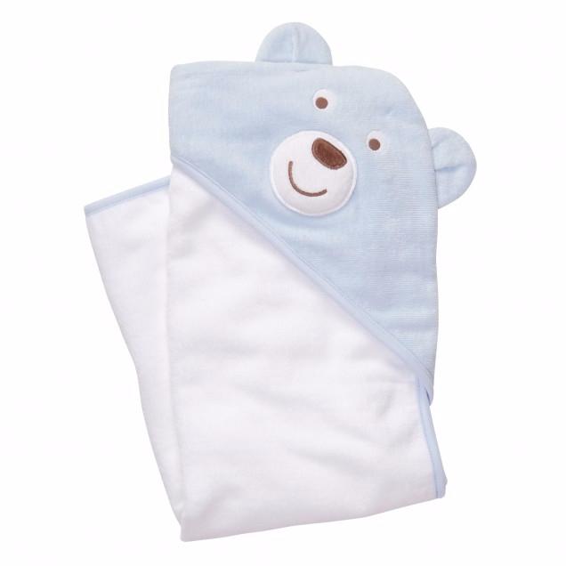 Полотенце для новорожденных с уголком своими руками