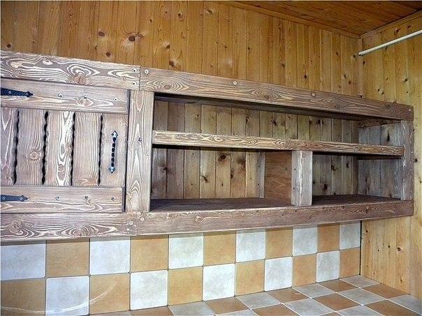 Мебель для кухни из досок