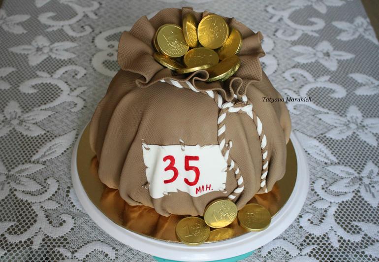 Как сделать торт мешком 735