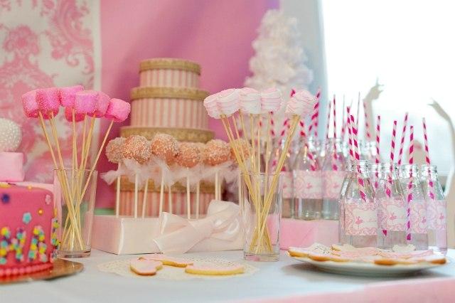 Оформление детского сладкого стола на день рождения фото