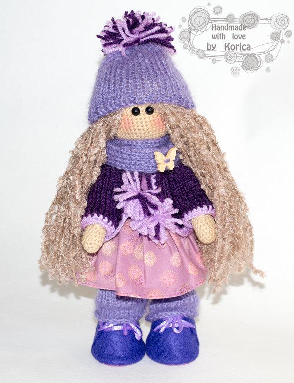 Кукла большеножка схема вязания