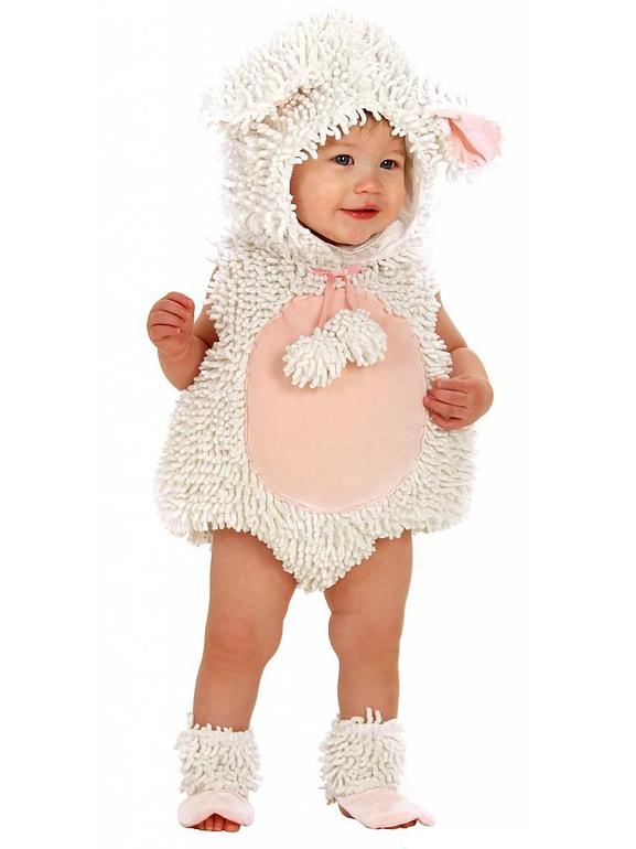 Костюм овечки для малышей