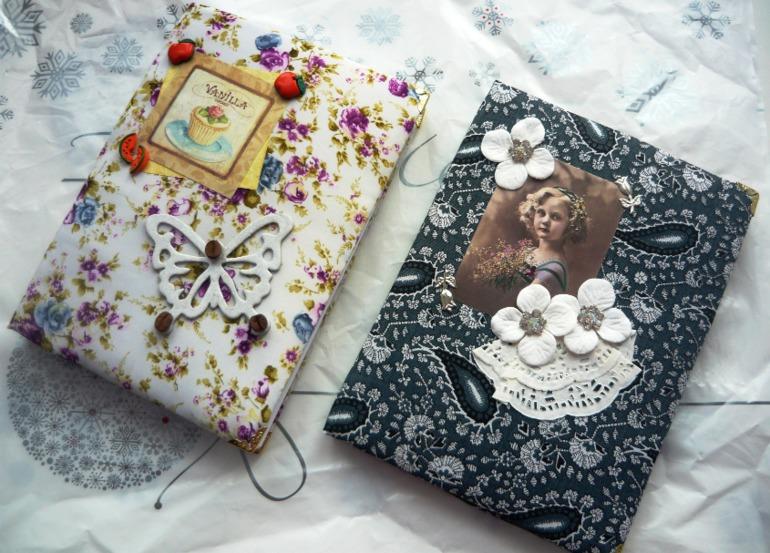 Блокнот и кулинарная книга