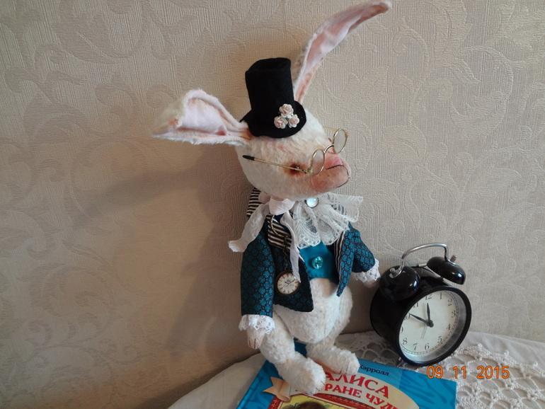 Кролик из алисы в стране чудес своими руками 914