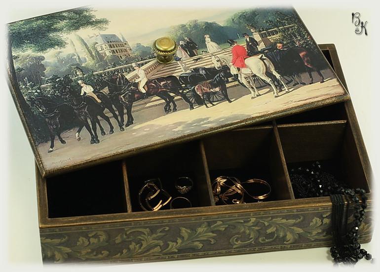 Коробка для украшений