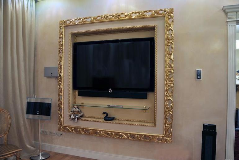 Сделать рамку для телевизора своими руками