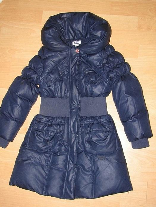 Пуховое пальто Chicco, размер 7 (122)