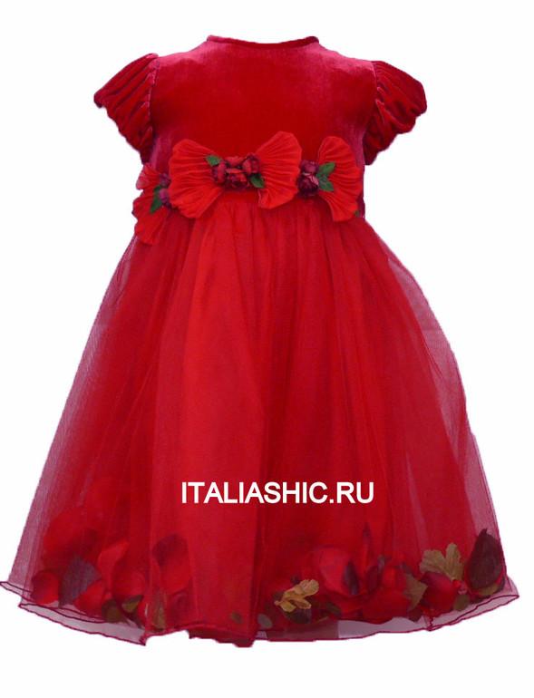 Платья Для Девочек Италия Купить