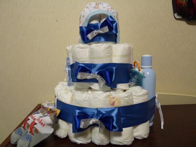Первый тортик)))
