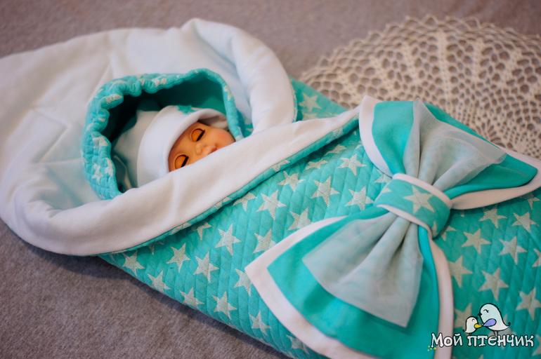 Шьем вещи для новорожденных
