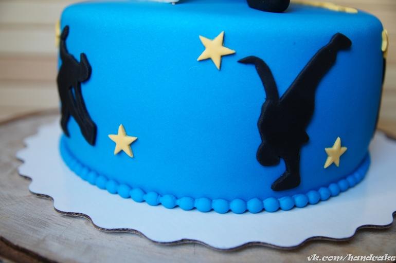 Торт для мальчика танцора
