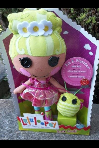 Мягкие Куклы Lalaloopsy Soft - 25,4 см.