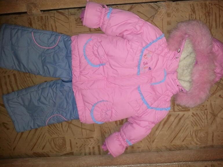 Верхняя одежда для девочки от рождения до 1,5 лет