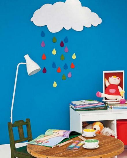 Облака для комнаты своими руками