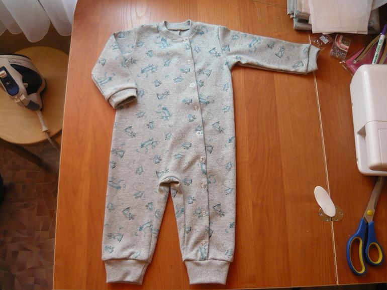 Сшить слипы для новорожденных