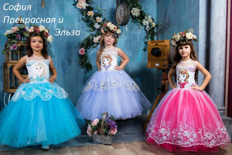 Платья на выпускной 2017 детский сад самые красивые необычные