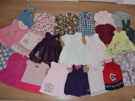Красивые летние платья и др.одежда  на р. 74-80-86