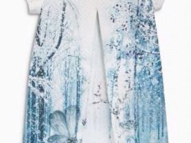 Стильное платье next 10 лет (140)