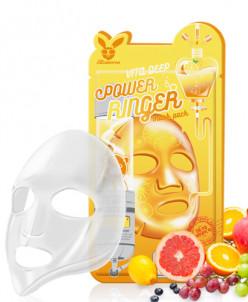[Elizavecca] Тканевая маска д/лица с Витаминами VITA DEEP PO