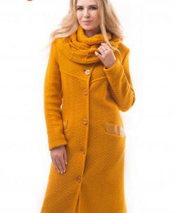 Пальто со снудом Алегро М-0581