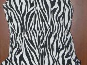 Платье-Туника Зебра за чай размер 42 есть карманы