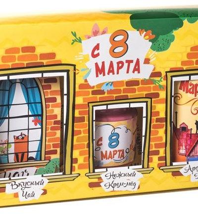 """Подарочный набор из 3 продуктов """"С 8 марта"""""""