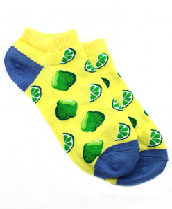 """Короткие женские носки """"Lime"""""""