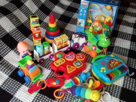Развивающие игрушки vtech,lamaze,smoby и др.