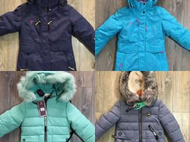 Зимние куртки мембрана 134-158