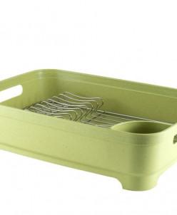 2412 GIPFEL Сушилка для посуды одноярусная с поддоном, 46х34