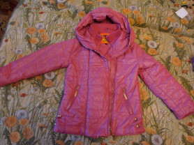 Демисезонная куртка 116-122